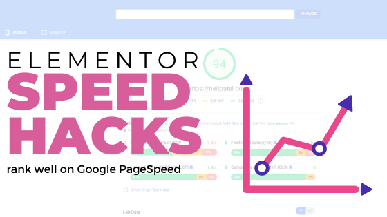 Advanced Elementor page speed optimisation: tips to score well on PageSpeed (Core Web Vitals)