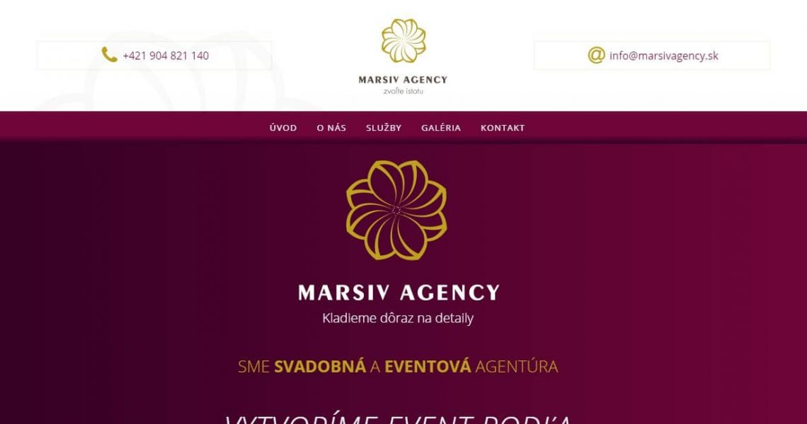 Wedding and events agency