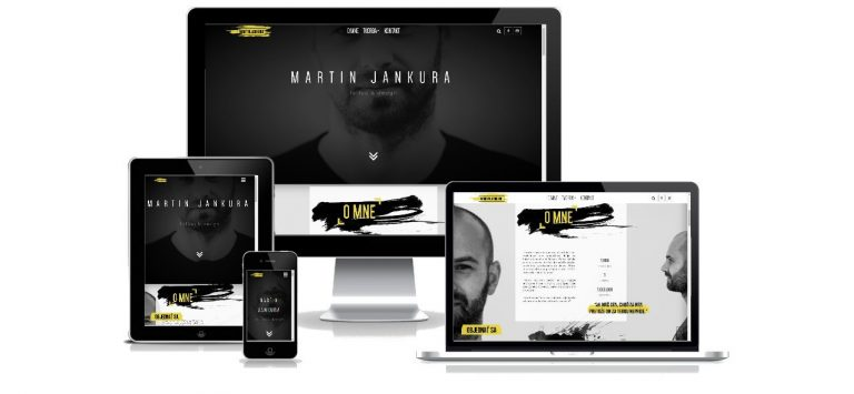 Tattoo artist portfolio website