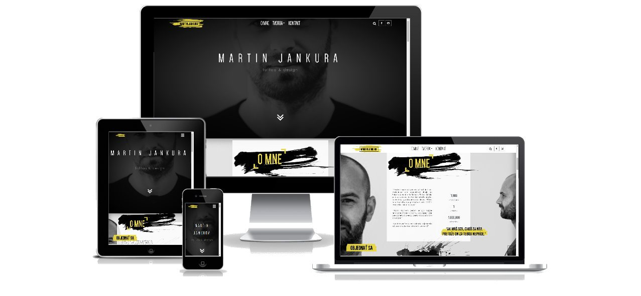 Tattoo artist portfolio website