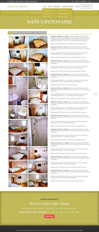 Hotel + booking system #2